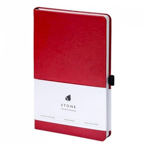 Water & Greaseproof Chef's Notebook - Red